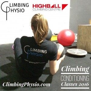 Climbing Conditioning Classes 2016